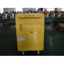 6.0kw Silent Diesel Generator with Four Small Wheels