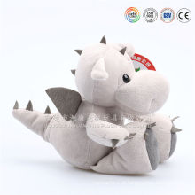 Bebê fofo pelúcia roxo dragão de brinquedo de pelúcia