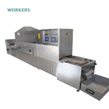 Mealworms microwave tunnel oven tenebrio molitor dryer machine  flour beetle dehydrator equipment