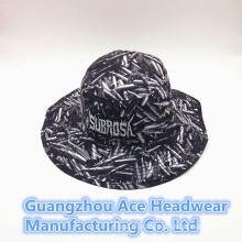 Summer Fashion Custom Chinese Style Printing Bucket Hat (ACEK0011)