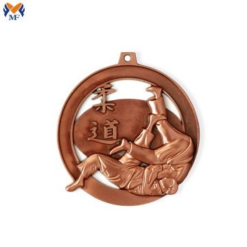 Judo competition bronze medals