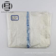 Transparent flat bag on roll for vegetables