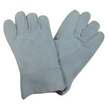 Heat Resistant Cow Split Leather Welding Gloves