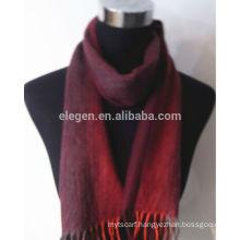 100%Cashmere Yarn Dyed Stripe Scarf