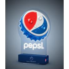 Pepsi led light display