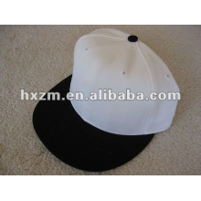 Chapéus brancos lisos