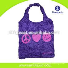 Reusable Eco Natural folding shopping bag