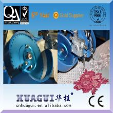 HUAGUI billig ein Kopf zwei Farbe Strass samt Stoff Maschine