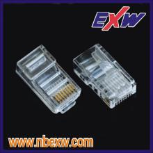 Gold Plating RJ45 Male Connector
