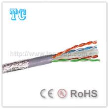 Сертификат Ce / RoHS SFTP CAT6 LSZH Сетевой кабель 305m / Roll