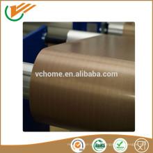 Tissu électrique inconductif fibre de verre ptfe ruban polyester teflon tissu enduit