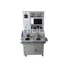 Équipement de panneau de test de stator de moteur de chauffage avec ordinateur