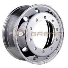Rodas de caminhão de alumínio pesado 22.5, rodas de caminhão 22.5x11.75