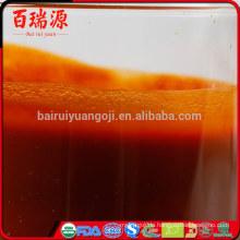Herkömmliche Goji-Saft und Vitamine Bio Goji-Saft Goji-Öl