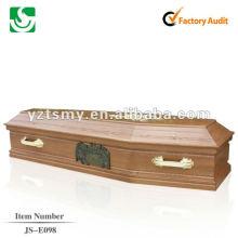 cercueil en bois bon marché enterrement crémation JS-E098