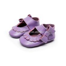 Chaussures de bébé souples en cuir de qualité supérieure chaussures de fête de bébé