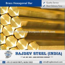 High Quality Cost-Effective Brass Material Hexagonal Bar for Oil and Gas Plants