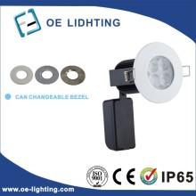 Calidad certificación 10W cortafuego regulable LED Downlight