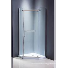 Diamond Glass Shower Screen Simple Shower Room