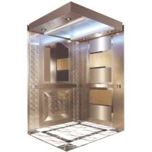 Passenger Elevator Lift High Quality Mirror Etched Aksen Hm-2000-1