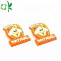 Customized Fashion Trend Button Badge Orange Soft Label