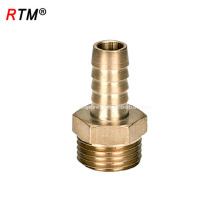 J17 4 12 8 pex pipe brass compression fittings customized brass compression tube fitting brass straight adapter fitting