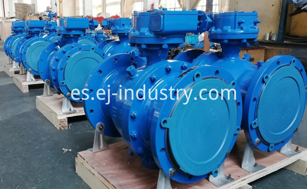 Casted Trunnion Ball Valves