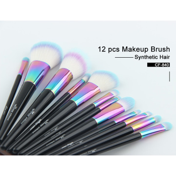 2020 Bestseller 12 Stück Bunter Make-up Pinsel