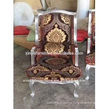 Euorpen estilo de luxo design clássico longue chaise XYD146