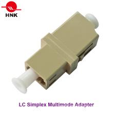 LC Simplex Multimode Standard Kunststoff Faseroptik Adapter