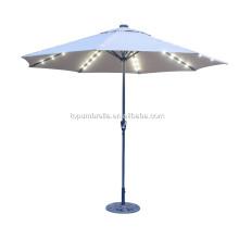 Meilleure qualité avec parapluie LED pour plantes voyage parapluie parapluie jardin extérieur