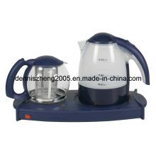 Électrique Tea Maker plateau avec bouilloire 1,7 L et 1,4 L théière