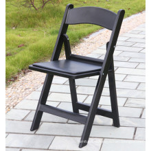 Black Outdoor Garden Plastic Chair for Events