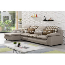 fabric cover wooden living room sofa set KW1221
