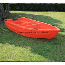 Kleine chinesische Fischerboot Hard Motor Kunststoff PE Boot