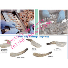 Neue Produkt Shrimp Peeling Maschine zum Verkauf