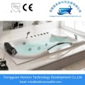 Embedded square soaking bathtub