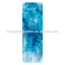 Natural Rubber Printed Yoga Mat with Private Label