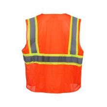Chaleco de seguridad reflectante de alta visibilidad (clase dos)