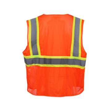 High Visibility Rflective Safety Vest (Class Two)