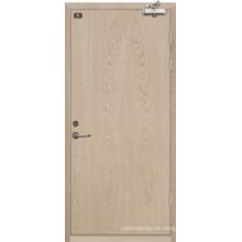 Porta de madeira avaliado fogo (yf-fw008)