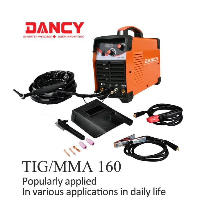 Small 160A tig welding machine aluminum