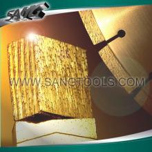 Faisceau de diamants de haute qualité et lames de scie pour la coupe de pierre