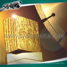 Diamond Segments Cutting Limestone, Marble and Granite