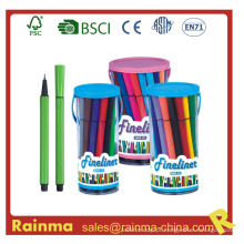Caneta de feltro de cor de água 12 PCS em Bucket Box