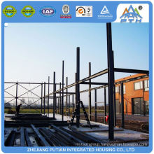 Quickly assemble new design prefabricated restaurant