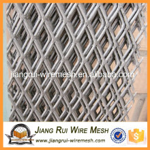 2016 High quality galvanized low carbon steel expanded metal mesh