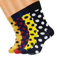 Popular logo socks same style polka dot stockings cotton socks male aliexpress hot style