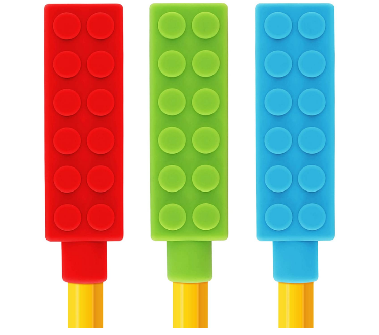 Silicone Chewable Pencil Toppers