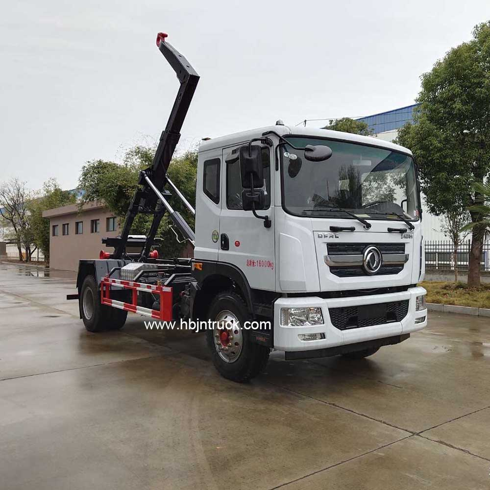 Dongfeng Roll Off Garbage Truck